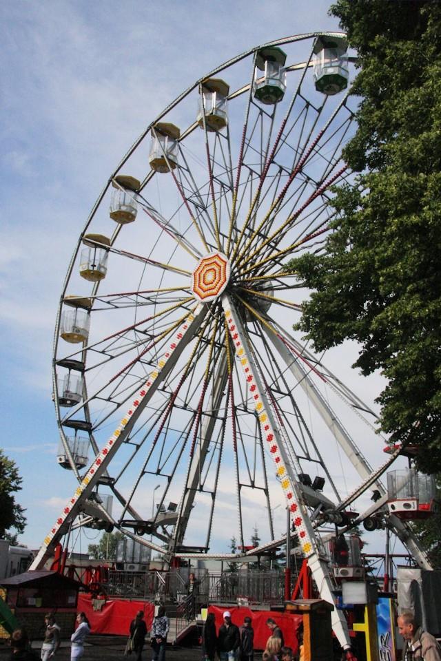 Diabelskie koło to jedna z wielu atrakcji Święta Solan.