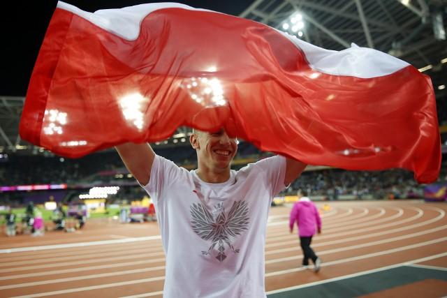 Piotr Lisek, wicemistrz świata w skoku o tyczce Londyn 2017