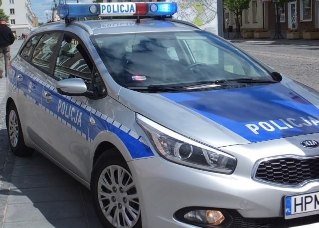 Wypadek motocyklisty na ul. Mickiewicza w Białymstoku