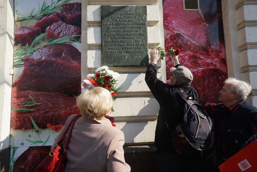 1 maja: Członkowie SLD pamiętają o Święcie Pracy