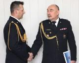 Pożegnanie Piotra Kołtackiego rzecznika prasowego PSP w Grudziądzu [zdjęcia, wideo]