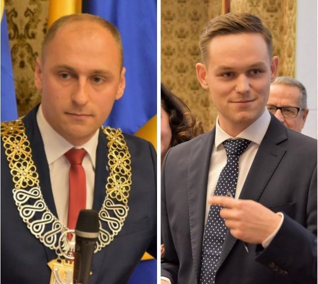 Lider klubu KO kontra przewodniczący rady miasta.