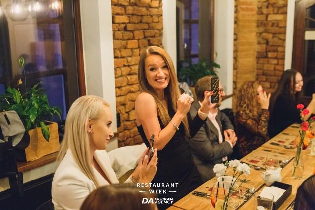 """Uroczysta kolacja w """"Atmosferze"""" rozpoczęła jesienną edycję  Restaurant Week"""