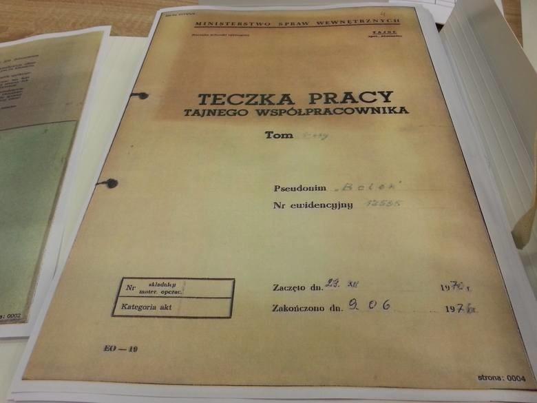 Lech Wałęsa przesłuchany w sprawie teczki TW Bolka....
