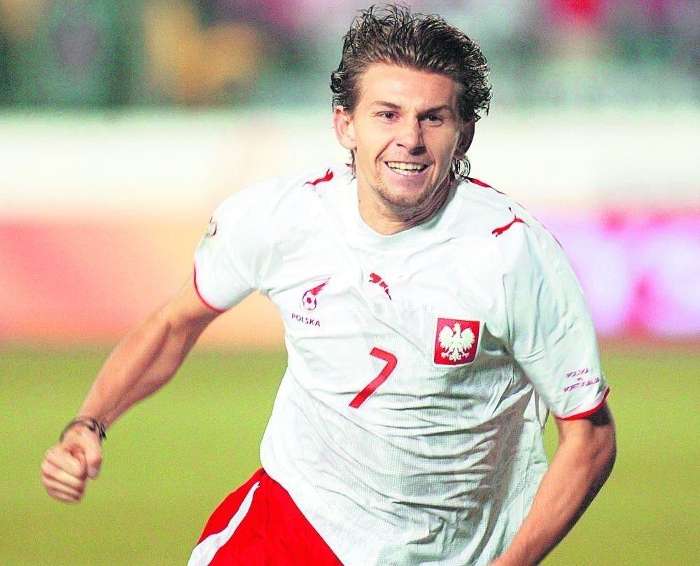 84776f7f9 Euzebiusz Smolarek rozegrał w reprezentacji Polski 47 spotkań, strzelił w  nich 20 bramek. Dziewięć