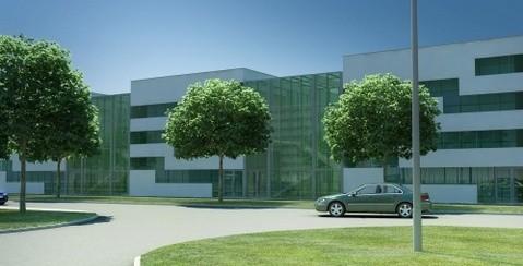 Tak będzie wyglądało Cnetrum Technologiczne, prowadzone przez Kielecki Inkubator Przedsiębiorczości, a budowane przez Dorbud SA