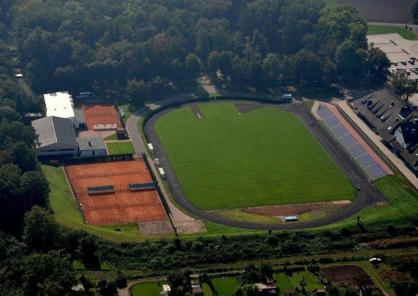 Obiekt powstał w 1960 roku. Na co dzień służy piłkarzom...