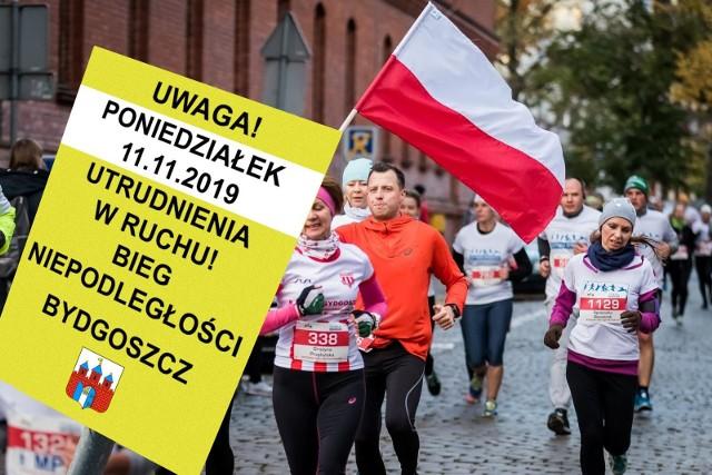 Uwaga, od 8 listopada sporo utrudnień w centrum Bydgoszczy. Najwięcej zmian wprowadzonych zostanie na czas Biegu Niepodległości, 11 listopada.