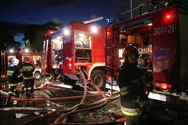 Dzięki szybkiej interwencji podlaskiej straży pożarnej nie doszło do rozprzestrzenienia się ognia.