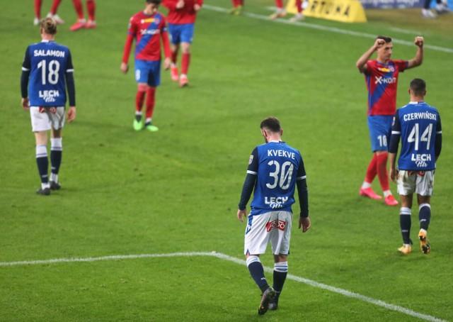 Lech Poznań przegrał po raz dziewiąty w tym sezonie PKO Ekstraklasy.