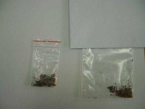 Narkotyki znalezione przy 18-latku