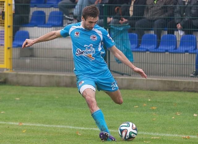 Po długiej przerwie spowodowanej kontuzją do gry powrócił Rafał Gutowski.