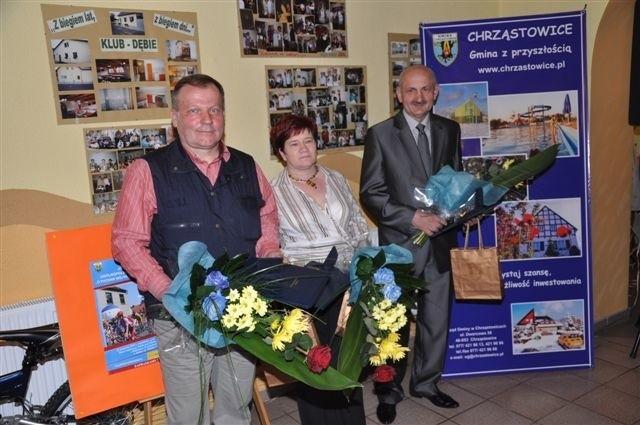 Honorowe obywatelstwa odebrali (od lewej): Benedykt Kocot, Barbara Halupczok-Styczyńska (za zmarłego męża Joachima) oraz Marian Staniszewski. Na uroczystości zabrakło Edwarda Barcika.