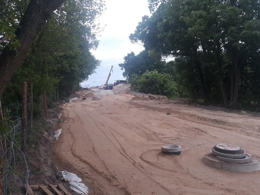 Budowa stadionu Pogoni - stan na 5 czerwca 2020