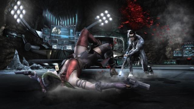 Injustice: Gods Among UsInjustice: Gods Among Us - pojedynek Harley Quinn i Nightwinga