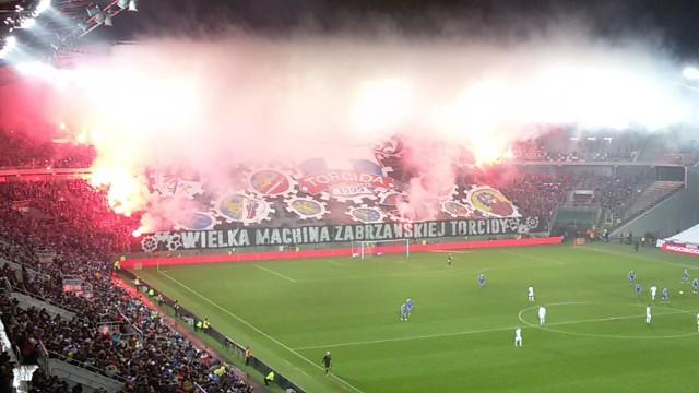 Torcida - grupa fanów Górnika Zabrze.
