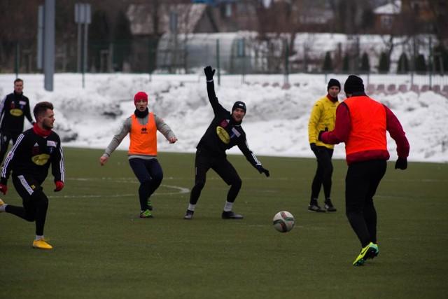 Olimpia Zambrów imponuje formą w sparingach zimowych