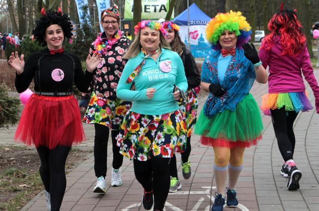 Bieg Kobiet w Grudziądzu był co roku bardzo kolorową imprezą rekreacyjno-sportowo