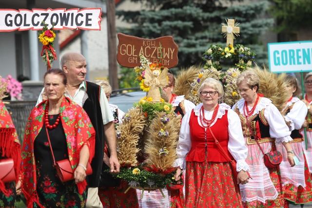 Dożynki diecezjalne diecezji sosnowieckiej odbyły się w tym roku w Chechle.