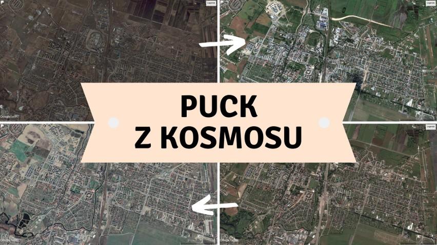 Zdjęcia satelitarne z kosmosu pozwalają nam zaobserwować,...