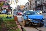 Kraksa na ulicy Dworcowej w Inowrocławiu. Utrudnienia w ruchu [zdjęcia]