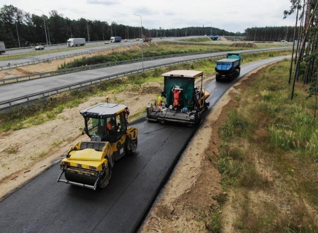 Trwają prace na budowie S3 między Polkowicami i Lubinem