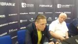 Dominik Bednarczyk, trener Avii Świdnik: Chylę czoła przed moją drużyną. Mamy swoją serię i w każdym meczu chcemy grać o 3 punkty [WIDEO]