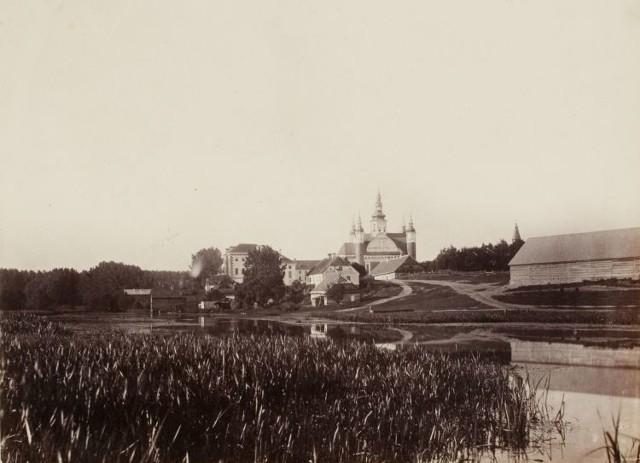 Tak wyglądał klasztor w Supraślu w XIX wieku