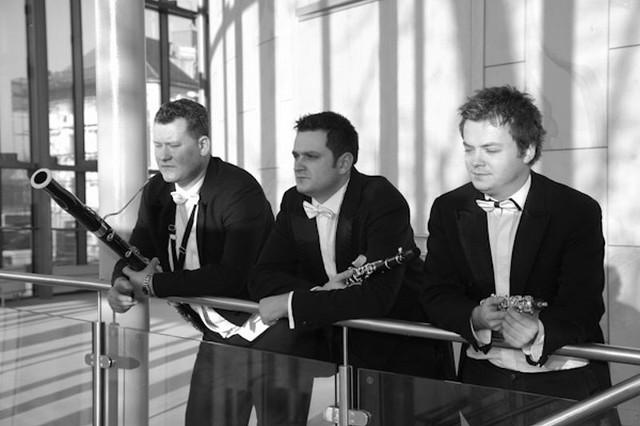 A wszystko zaczęło się od Reed Connection, które założyli artyści Filharmonii Zielonogórskiej (od prawej): Michał Mogiła (obój), Jarosław Podsiadlik (klarnet), Rafał Dołęga (fagot).