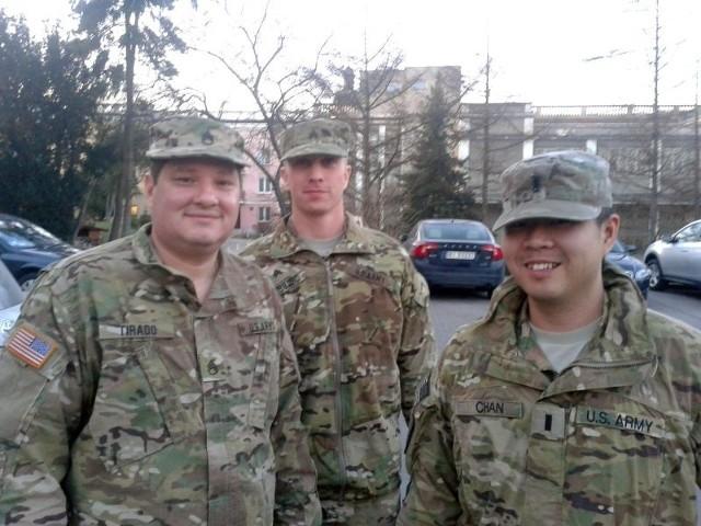 Pierwsi amerykańscy żołnierze są już w Białymstoku