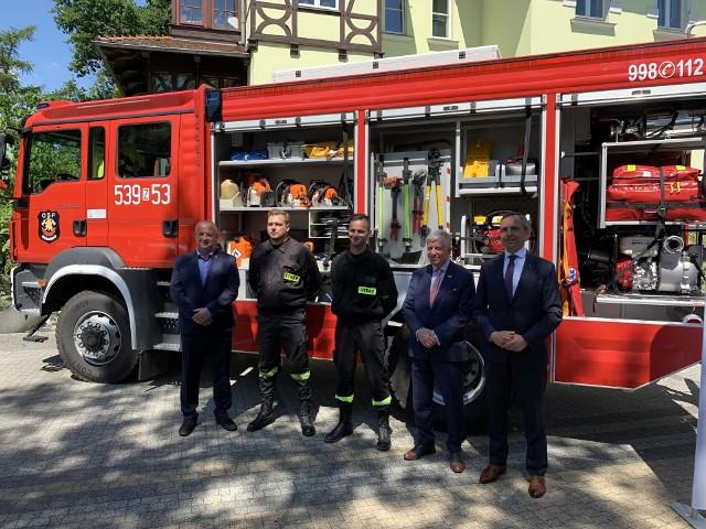"""W ramach trzeciej edycji programu """"Mały Strażak"""" Ochotnicze Straże Pożarne mogą ubiegać się nawet o 25 tysięcy złotych dofinansowania."""