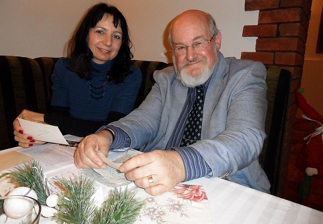 Odnaleźć w Polsce ojca pomogła Rogerowi Taylorowi Aleksandra Kacprzak, grudziądzki genealog