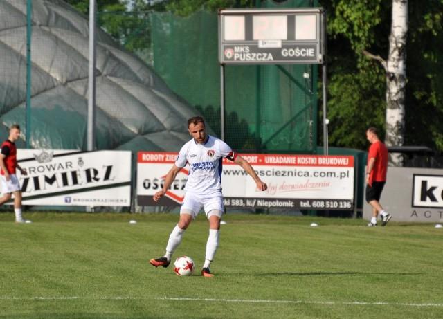 Michał Czarny zdobył zwycięskiego gola dla Puszczy Niepołomice