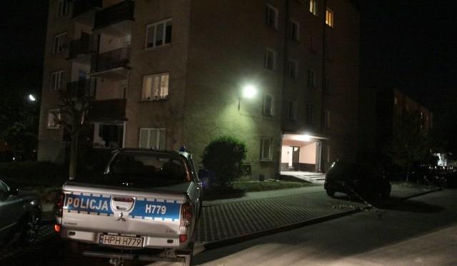 Podwójne zabójstwo na osiedlu Gołębiów w Radomiu.