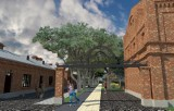 Rewitalizacja Księżego Młyna. Do remontu 8 budynków, szlak pieszo-rowerowy, parking i stare pompy [ZDJĘCIA, WIZUALIZACJE]