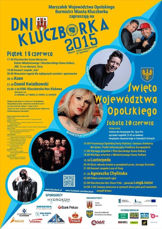 Program Dni Kluczborka 2015