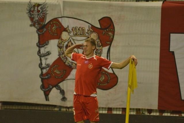 Eduards Visnakovs jest najcenniejszym piłkarzem Widzewa.