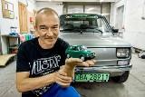 """Elektryczny """"Maluch"""" prosto z Dolnego Śląska. Ten Fiat 126p to prawdziwe cudo!"""