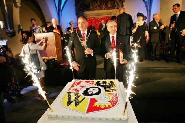 Jako ostatni Honorowym Obywatelem Wrocławia został Bogdan Zdrojewski