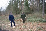 Policjanci i strażnicy leśni patrolują opolskie lasy