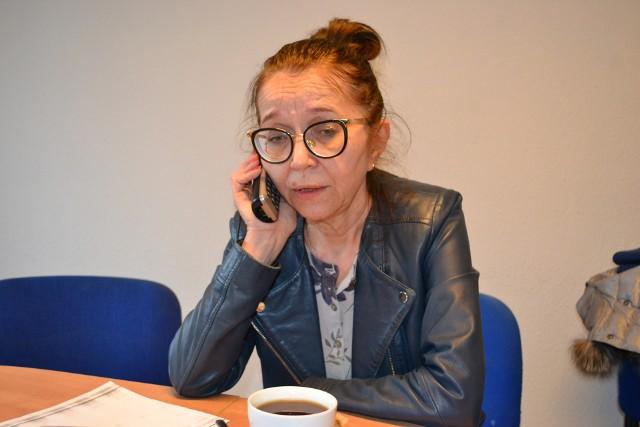 Józefa Spychała, kierownik Wydziału Świadczeń w bydgoskim oddziale KRUS