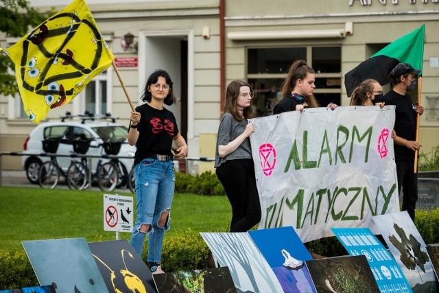Młodzieżowy Strajk Klimatyczny w Bydgoszczy
