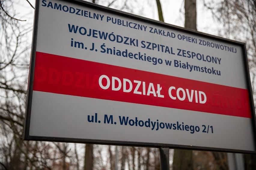 Oddział covidowy w Wojewódzkim Szpitalu Zespolonym w...