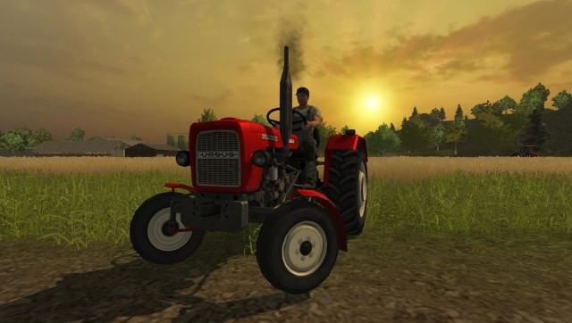 Farming Simulator 2013 Edycja UrsusTak gra bez Ursusa C-330 nie może się obejść.