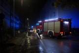 Pożar na ulicy Piotra Skargi w Słupsku