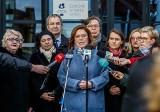 Małgorzata Kidawa-Błońska, kandydatka w prawyborach Platformy Obywatelskiej, odwiedziła Gdańsk. - Walczę i wierzę, że wygram [zdjęcia]