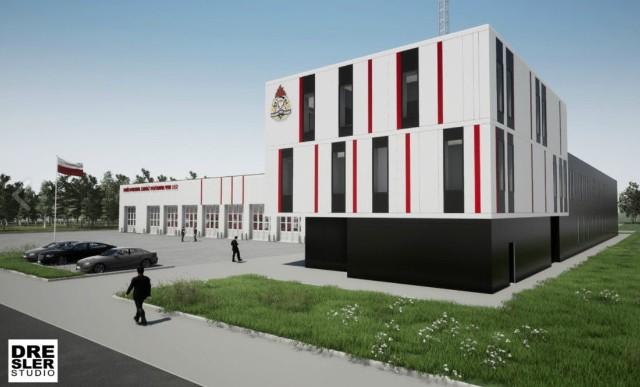 Ponad sześć milionów złotych będzie kosztować budowa nowej strażnicy Komendy Miejskiej Państwowej Straży Pożarnej w Łodzi. Będzie to pierwsza jednostka ratowników na Olechowie. Czytaj więcej, Zobacz wizualizacje