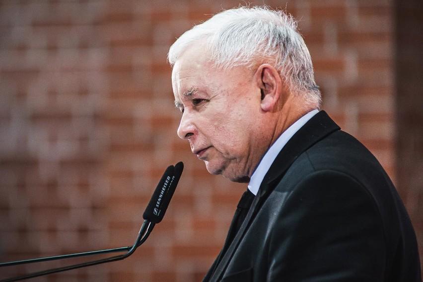Prezes PiS Jarosław Kaczyński był w piątek gościem Polskiego...