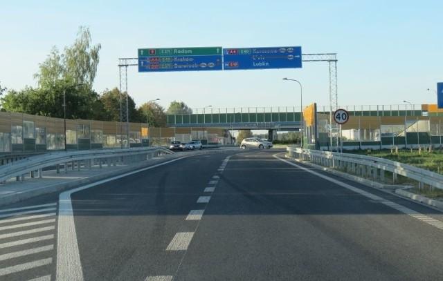 Najdroższe inwestycje na PodkarpaciuFragment autostradowej obwodnicy Rzeszowa.