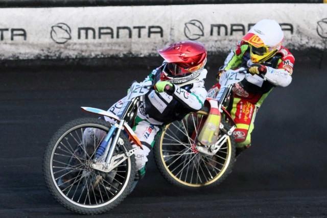 O tytuł mistrza Europy walczą m.in. Andrzej Lebiediew (z lewej) i Vaclav Milik z Betardu Sparty Wrocław.